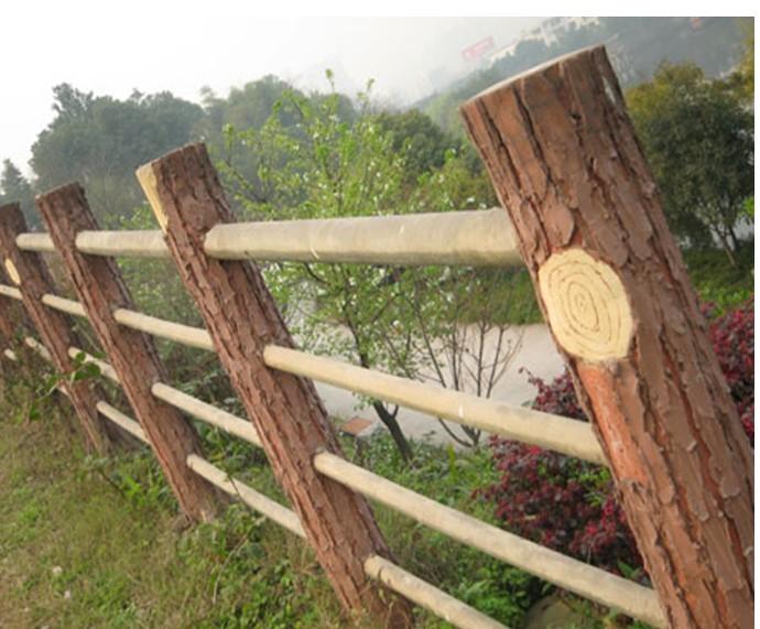 景区仿木纹